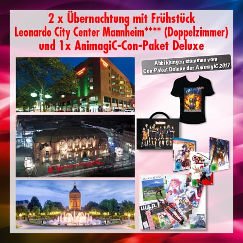 Tickets kaufen für Leonardo City Center + Con-Paket Deluxe am 03.08.2018