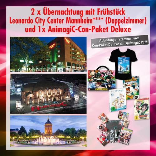 Tickets kaufen für Leonardo City Center + Con-Paket Deluxe am 02.08.2019